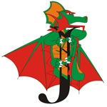 Dragon J Personalized T-shirts & Gifts