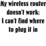 Wireless Router T-shirts & Gifts