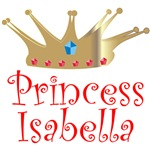 Princess Isabella T-shirts & Gifts