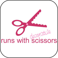Runs with Decorative Scissors