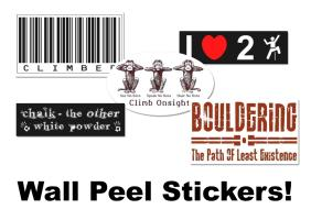 NEW! Oversized Stickers