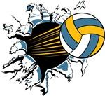 Volleyball Burst