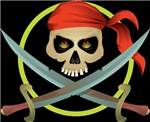 Crossed Swords Pirate