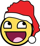 SANTA AWESOME FACE