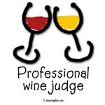 Professional wine judge