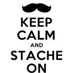 keep calm stache on