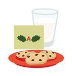 Christmas Milk Cookies