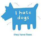 I hate dogs t-shirts