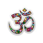 Om Aum Namaste Yoga Symbol