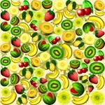 Summer Fruits Juicy Pattern