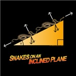 Snake on an Inclined Plane is the perfect t-shirt for that physics teacher of physics geek