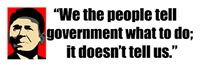 Reagan Quote - We the People