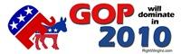 GOP Dominates in 2010