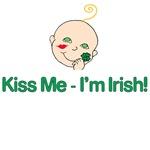 Saint Patricks Day Clover Baby