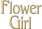 Golden Flower Girl tees & gifts