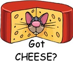 Got Cheese? t-shirts & gifts