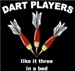 Dart Players t-shirts