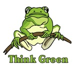 Think Green t-shirts & gifts