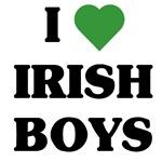 I Love Irish Boys t-shirts & gifts