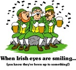 Irish Eyes are smiling t-shirts & gifts