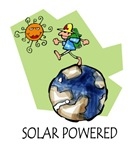 Solar Powered t-shirts & gifts