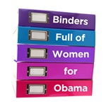 Binders Full of Women for Obama