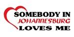 Somebody in Johannesburg loves me