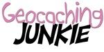 Geocaching Junkie - Pink