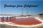 Greetings from California!