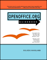 OpenOffice 2 Guidebook: now marked down!
