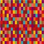 Mad Colorful Checkerboard