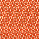 Brilliant Orange Weave