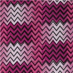 Funky Pink Hipster Zigzag