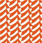 Orange Check Pattern