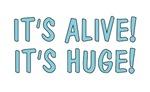 Cloverfield t-shirts. It's alive! It's huge!