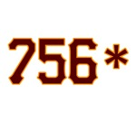 The 756* (or 756 Asterisk) t-shirt, protesting the