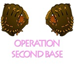 Breast Cancer. Operation second base t-shirts.