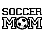 Soccer mom T-shirts and gifts.