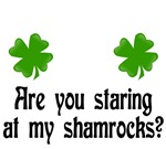 St Patrick's Day T-shirts. Are you staring at my S