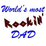 World's Most rockin' Dad Father's Day