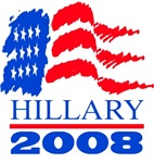 (Flag) Hillary 2008
