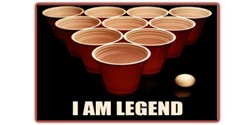 Beer Pong - I Am Legend