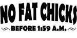 No Fat Chicks