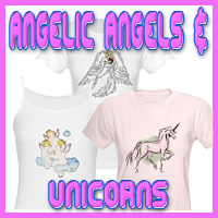 Angelic Angels & Unicorns T-Shirts & Gifts
