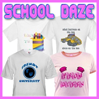 School Daze Customized T-Shirts & Gifts