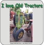 I Love old John Deere tractors
