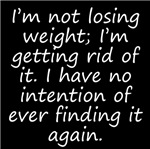Getting Rid Of Weight