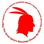 Great Spirit's Blessings Red