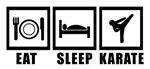 Eat Sleep Karate