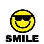 SMILE WITH SMILEY FACE